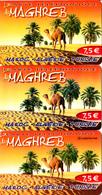 3 Cartes Prépayées Maghreb 7,5€ Différentes - Frankrijk