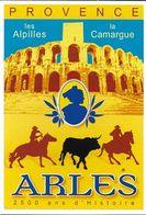 PUBLICITÉ TOURISME PROVENCE LES ALPILLES LA CAMARGUE ARLES 2500 ANS D'HISTOIRE 101520 EDIT. CLOUET - Publicité