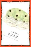 CPA Bonnet En Tissu Et étoiles Or Sainte Catherine - Saint-Catherine's Day