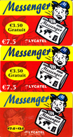 3 Cartes Prépayées Messenger Lycatel €7.5 Différentes - Frankrijk