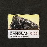 CANOUAN. LOCOMOTIVE. MNH. 5R1701D - Trains