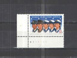 USA PO 1997 Woman In Military Scott.3174 See Scan On Foglio Album; - Estados Unidos