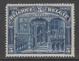 Belgium  148A  (tanding 15)  X (MH)  Cote 55,00 Euro - 1915-1920 Albert I