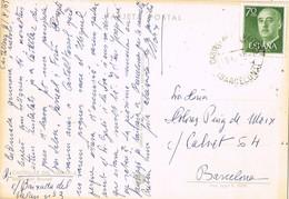 34873. Postal CASTELLAR Del VALLES (Barcelona) 1967. Balsa Del BRUNET De Castellar - 1931-Hoy: 2ª República - ... Juan Carlos I