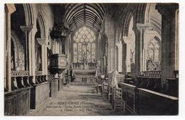 PONT-CROIX --Intérieur De L'église Notre-Dame De Roscudon--Le Choeur -- - Pont-Croix