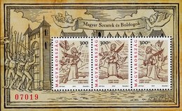 Hungary - 2019 - Hungarian Saints And Blesseds, Part VII - Mint Souvenir Sheet Gold And Silver Coloured Metallic Ink - Ungarn