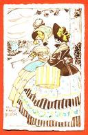 """CPA Art Nouveau Illustrateur Max Hassur Belline """" Deux Femmes élégantes En Robe """" - Illustrators & Photographers"""