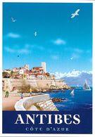 PUBLICITÉ TOURISME  ANTIBES COTE D'AZUR  101592 EDIT. CLOUET - Publicité