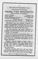 Brugge PRIESTER Kanunnik Van Houtryve 1949 - Oude Documenten