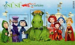Hungary - 2019 - Fairy Tale Characters - Süsü The Dragon - Mint Souvenir Sheet - Ungarn