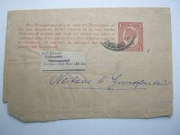 DSW , Streifband Aus Queensland  Nach Swakopmund - Colony: German South West Africa