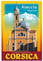 PUBLICITÉ TOURISME AJACCIU AJACCIO LA CATHEDRALE SANTA MARIA ASSUNTA CORSICA 101566  EDIT. CLOUET - Publicité