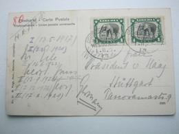 1912 , Seepost Hamburg - Westafrika  LN  , Klarer Seepoststempel Auf Ansichtskarte - Colony: German South West Africa