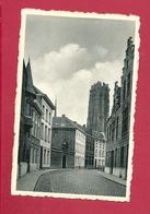 C.P. Mechelen = De  Stassaertstraat   :  Zicht Op St-Romboutstoren - Malines