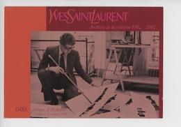 Yves Saint Laurent Archives 1962/2002 Fondation Pierre Bergé - Saint Germain Blanche Herbe Abbaye D'Ardenne - Fashion