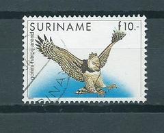 1986 Suriname Birds,oiseaux,vogels,vögel Harpij-arend Used/gebruikt/oblitere - Surinam