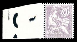 N°128, 30c Mouchon Bdf Latéral, TB (certificat)  Qualité: **  Cote: 1000 Euros - 1900-02 Mouchon