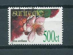 1993 Suriname Flowers,fleurs,blümen,bloemen 500 Cent Used/gebruikt/oblitere - Surinam