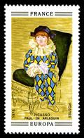 N°1840a, Paul En Arlequin De Picasso. Sans Valeur Faciale Ni Légende. SUPERBE. R.R.R. (signé Calves/certificats)  Qualit - Variedades: 1970-79 Nuevos