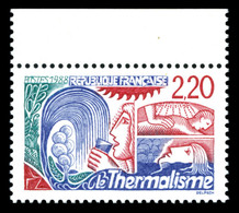 N°2556a, Thermalisme: 2F20 Rouge Au Lieu De Bleu Bdf, TB (certificat)  Qualité: **  Cote: 600 Euros - Errors & Oddities