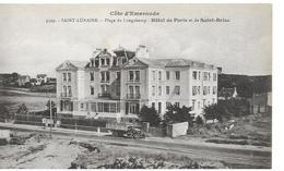 35 St Lunaire   Plage Longchamp Hotel De Paris Et De St Briac Vieux Camion - Saint-Lunaire