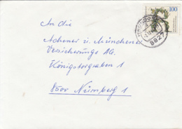 83926- RIESLING GRAPES, STAMPS ON COVER, 1991, GERMANY - Storia Postale