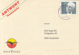 83928- ROLF VOGEL SPECIAL COVER, WALTER EUCKEN STAMP, 1991, GERMANY - [7] Repubblica Federale