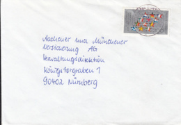 83933- EUROPEAN PARLIAMENT, STAMPS ON COVER, 1994, GERMANY - Storia Postale