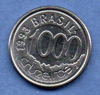 D  //  Brésil - 1000 Cruzeiros 1993 --  Km # 626  --   état SUP - Brésil