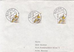 83938- WIESBADEN RUSSIAN CHURCH, STAMPS ON COVER, 1993, GERMANY - [7] Repubblica Federale