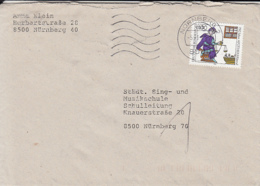 83939- PHARMACY, STAMPS ON COVER, 1991, GERMANY - [7] Repubblica Federale