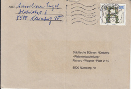 83941- RIESLING GRAPES, STAMPS ON COVER, 1992, GERMANY - [7] Repubblica Federale