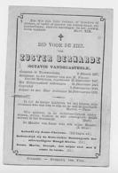 Elverdinghe Ieper Merkem Houthulst Zuster Octavie Vandecasteele +1872 - Oude Documenten