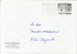 83988- CHILDRENS WELFARE TERRE DES HOMMES STAMP ON COVER, BOTTROP SPECIAL POSTMARK, 1992, GERMANY - [7] Repubblica Federale