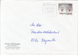 83988- CHILDRENS WELFARE TERRE DES HOMMES STAMP ON COVER, BOTTROP SPECIAL POSTMARK, 1992, GERMANY - Storia Postale