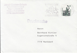 83989- MUNCHEN BAVARIA HALL STAMP ON COVER, MARKDORF SPECIAL POSTMARK, 1992, GERMANY - Storia Postale
