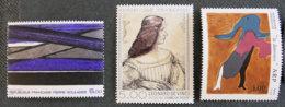 FRANCE - 1986 - YT 2446 à 2448 ** - SERIE ARTISTIQUE - Neufs