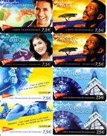 8 Cartes Prépayées Kertel 7,5€ Différentes - Frankrijk