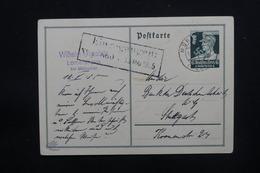 ALLEMAGNE - Entier Postal De Mühlacker Pour Stuttgart En 1935 - L 48712 - Covers & Documents