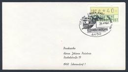 Deutschland Germany 1981 Brief Cover - 125 Jahre Emsland-Bahn + DB Fahrzeugschau, Lingen / Eisenbahn / Railway - Trains