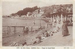 83)  BANDOL  -  Plage Du Grand Hotel - Bandol