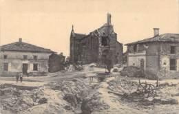 Zerstörte Gebäude Feldpost 1916 Zensur - Guerra 1914-18