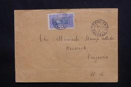 DAHOMEY - Enveloppe De Grand Popo Pour Les Etats Unis En 1915 - L 48716 - Dahomey (1899-1944)