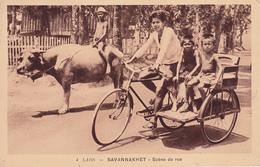 LAOS  SAVANNAKHET Scène De Rue 1949 - Laos