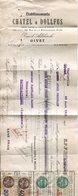 Ardennes. GIVET. 1932. Traite Des Ets CHATEL-DOLLFUS - Chèques & Chèques De Voyage