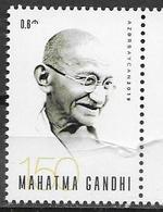 AZERBAIJAN, 2019, MNH, GANDHI, 1v - Mahatma Gandhi