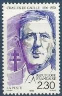 """FR YT 2634 """" Général De Gaulle """" 1990 Neuf** - France"""
