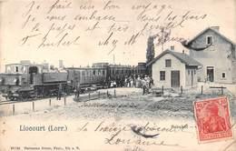 LIOCOURT - Bahnof - Gare - Train - France