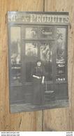 Carte Photo Commerce A.PORTENEUVE, Produits A Localiser Sur PARIS (bouche De Gaz)  …... … MU-3046 - A Identifier