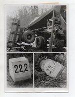 C3243/ LKW Unfall Teufelsmoor Zwischen Bremen - Bremerhaven Pressefoto 1950  - Non Classificati